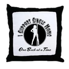 Pole Dancer Throw Pillow