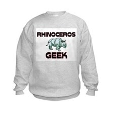 Rhinoceros Geek Sweatshirt