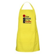 I Wear Grey For My Patients 9 BBQ Apron