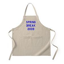 Spring Break 2009 BBQ Apron