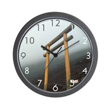 Mount Fuji Torii Wall Clock