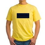 MY BUTT ITCHES Yellow T-Shirt