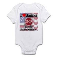 STOP Home Foreclosures! Infant Bodysuit