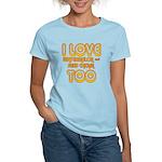 I LOVE WATERMELON AND FRIED C Women's Light T-Shir