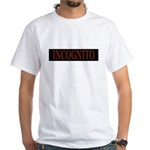 INCOGNITO White T-Shirt