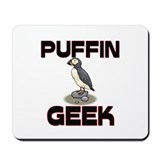 Puffin Geek Mousepad