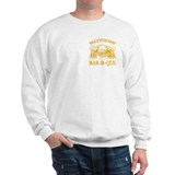 Matthews Family Name Vintage Barbeque Sweatshirt