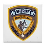 Harris County Sheriff Tile Coaster