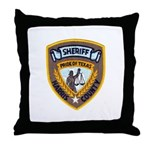 Harris County Sheriff Throw Pillow