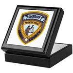 Harris County Sheriff Keepsake Box