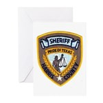 Harris County Sheriff Greeting Cards (Pk of 20)