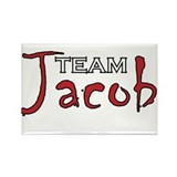 Team Jacob Rectangle Magnet