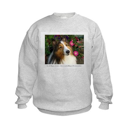 All things in nature. Kids Sweatshirt
