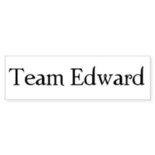 Team Edward Bumper Bumper Sticker