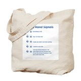 Hand Signals Tote Bag