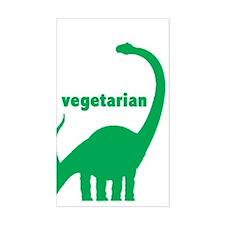 Vegetarian Brachiosaurus Rectangle Decal