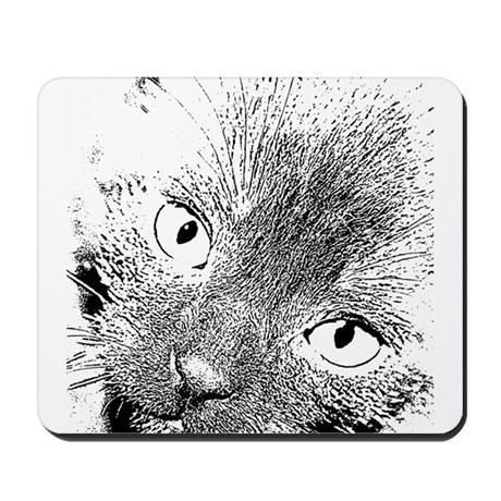 Angel Eyes Mousepad