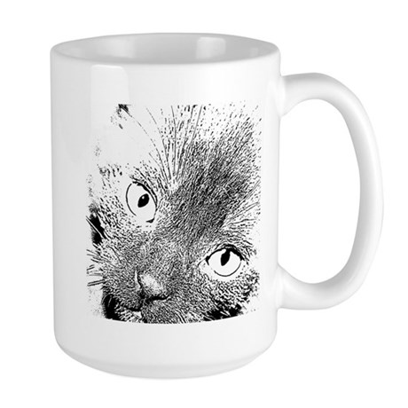 Angel Eyes Large Mug