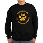 Australian Shepherd Dog Sweatshirt (dark)