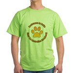 Australian Shepherd Dog Green T-Shirt