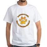 Australian Shepherd Dog White T-Shirt