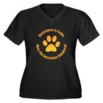 Australian Shepherd Dog Women's Plus Size V-Neck D