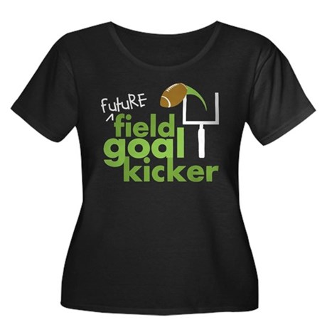 Future Field Goal Kicker Women's Plus Size Scoop N