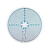 "Chartre Labyrinth 3.5"" Button"
