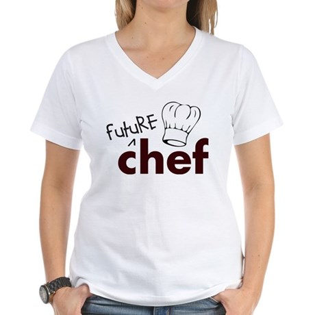 Future Chef Women's V-Neck T-Shirt