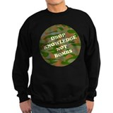 """Drop Knowledge..."" (camo) Jumper Sweater"