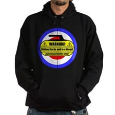 """Warning! Sliding Rocks..."" Hoodie"