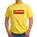 Harassment Yellow T-Shirt
