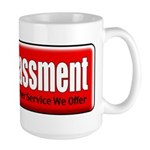 Harassment Large Mug