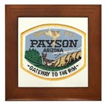 Payson Arizona Framed Tile