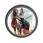 Mounted Shriner Wall Clock