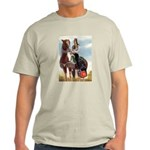 Mounted Shriner Light T-Shirt