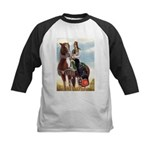 Mounted Shriner Kids Baseball Jersey