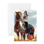 Mounted Shriner Greeting Card