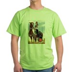 Mounted Shriner Green T-Shirt
