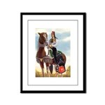 Mounted Shriner Framed Panel Print