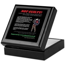 Article 6 Not Guilty Keepsake Box