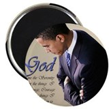 "Obama Praying 2.25"" Magnet (100 pack)"