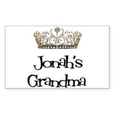 Jonah's Grandma Rectangle Decal