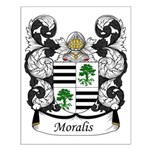 Moralis Family Crest Small Poster
