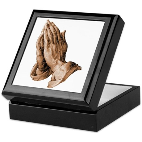 Durer's Praying Hands Keepsake Box