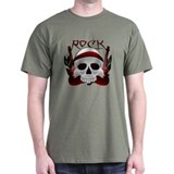 Skull with guitars T-Shirt