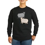 Long Sleeve Dark Sheep T-shirt