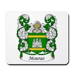 Mourao Family Crest Mousepad