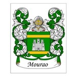 Mourao Family Crest Small Poster