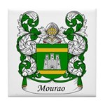 Mourao Family Crest Tile Coaster
